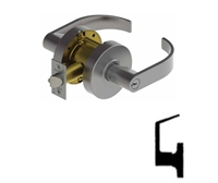 Hager 2517, 2500 Series Grade 2 Dummy Lever, Specify Options, (5 Year Warranty)