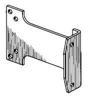 S. Parker Hardware Ho609: Parallel Arm Bracket With Hold Open For 900 Series Door Closers