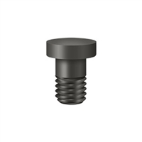 Deltana Hpss70U10B - Extended Button Tip For Solid Brass Hinges - Oil-Rubbed Bronze Finish