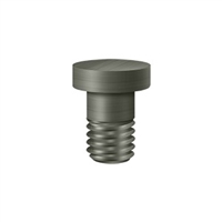 Deltana Hpss70U15A - Extended Button Tip For Solid Brass Hinges - Antique Nickel Finish