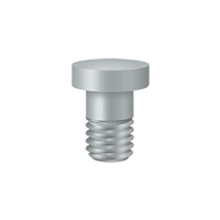 Deltana Hpss70U26D - Extended Button Tip For Solid Brass Hinges - Brushed Chrome Finish