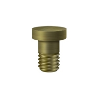 Deltana Hpss70U5 - Extended Button Tip For Solid Brass Hinges - Antique Brass Finish