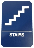 "Don Jo Hs-9070-24-Blue, 6"" X 9"" Stairs, Blue Finish"