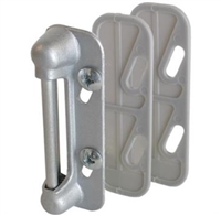 Prime Line K 5003 - Screen Door Strike Plate, Spring Type, Aluminum