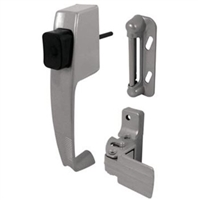 Prime Line K 5070 - Push Button Latch, W/Tie Down, Aluminum