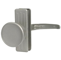 "Prime Line K 5077 - Tulip Knob Latch, W/3"" Hole Center, Aluminum"