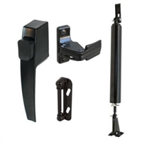 Prime Line K 5095 - Screen Door Hardware Kit, Black