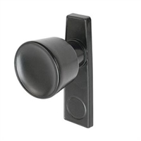Prime Line K 5097 - Screen Door Outside Knob, Black