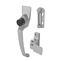 "Prime Line K 5107 - Push Button Latch, W/1-1/2"" Hole Center, Aluminum"