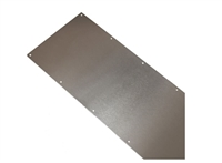 "Trimco Km038-1.630 - Mop Plate 0.038 4""& Under Hgt, Satin Stainless Steel"