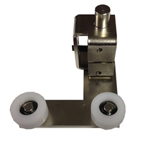 ADH Select Right Hand Fixed Panel Double Roller Bottom Guide Assembly For Keane Monroe KM 1100 Automatic Sliding Door