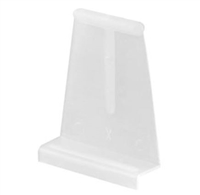 Prime Line L 5525 - Screen Lift Tabs, Universal, White Plastic