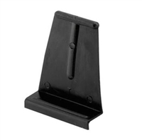 Prime Line L 5566 - Screen Lift Tabs, Universal, Black Plastic