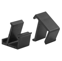 Prime Line L 5684 - Screen Frame Retainer Clips, Top&Bottom, Black Vinyl