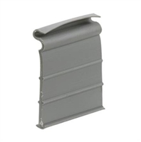 Prime Line L 5686 - Screen Lift Tabs, Universal, Gray Vinyl