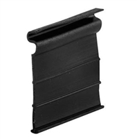 Prime Line L 5687 - Screen Lift Tabs, Universal, Black Vinyl