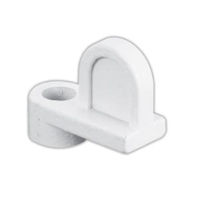 "Prime Line L 5786 - Window Clips, 1/16"", White Diecast"