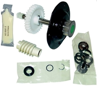 Liftmaster Belt Drive Gear & Sprocket Assembly (Old Style) - Liftmaster Part Number: 41A4885-2