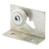 "Prime Line M 6011 - Tub Enclosure 3/4"" Flat Roller & Bracket"
