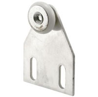 "Prime Line M 6032 - Shower Door Roller & Bracket, 3/4"", Oval"