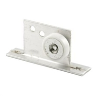 "Prime Line M 6035 - Shower Door Roller & Bracket, 3/4"", Flat"