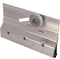 Prime Line M 6053 - Shower Door Bracket & Roller, Frameless