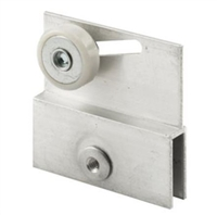 Prime Line M 6054 - Shower Door Bracket & Roller, Frameless