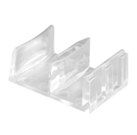 Prime Line M 6058 - Shower Door Bottom Guide Assembly