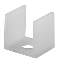 Prime Line M 6063 - Sliding Shower Door Bottom Guide