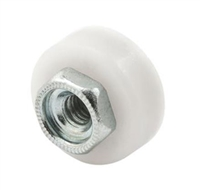 "Prime Line M 6065 - Shower Door Rollers, 5/8"" Flat"
