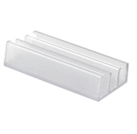 Prime Line M 6089 - Shower Door Bottom Guide, Nylon