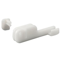 Prime Line M 6090 - Shower Door Bottom Guide, Nylon