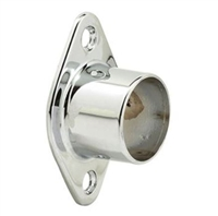 Prime Line M 6100 - Shower Rod Brackets, Chrome