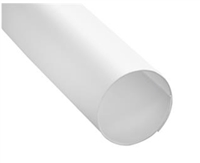 "Prime Line M 6101 - Shower Rod Cover, 60"", White Plastic, Pack of 12"