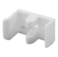 Prime Line M 6112 - Sliding Shower Door Bumper & Guide, Plastic