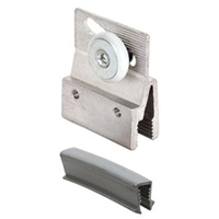 Prime Line M 6145 - Roller Bracket, Frameless, Mill Finish