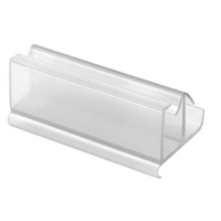 Prime Line M 6217 - Shower Door Guide, Frameless, Clear