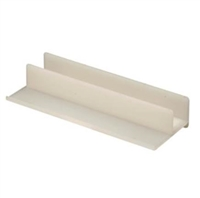 Prime Line M 6221 - Shower Door Guide, White