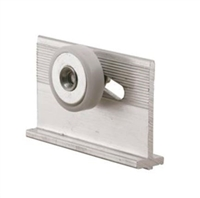 "Prime Line M 6232 - Tub Enclosure Roller & Bracket, 3/4"", Flat"