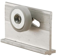 "Prime Line M 6233 - Tub Enclosure Roller & Bracket, 3/4"", Flat"