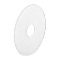 Prime Line M 6261 - Shower Curtain Hanger Repair Tab, Self Adhesive