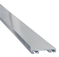 "8 Feet Total Length Aluminum Bottom Seal Retainer, 1 5/8"" (Cut In 2 Each 4 Foot Lengths)"