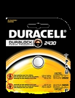 Duracell 3V 2430 Lithium, Single Pack