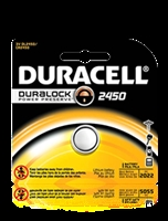 Duracell 3V 2450 Lithium, Single Pack