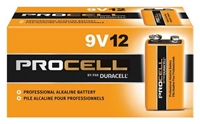 Duracell 9V Procell, 12 Pack