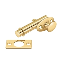 Deltana Mb175Cr003 - Mortise Bolt - Pvd Polished Brass Finish