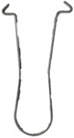 Don Jo Mwa-1-Steel, Mason Wire Anchor, Steel Finish