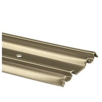 "Prime Line N 6879 - Closet Door Bottom Track, 48"",  Champagne Gold"