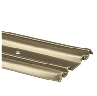 "Prime Line N 6880 - Closet Door Bottom Track, 60"", Champagne Gold"