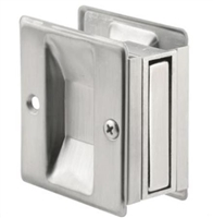 Prime Line N 7079 - Pocket Door Passage Pull, Satin Chrome